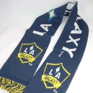 MLS Soccer LA Galaxy Double Sided Scarf 6""